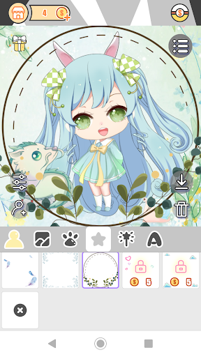 Cute Girl Avatar Factory 1.0.2 Mod screenshots 5