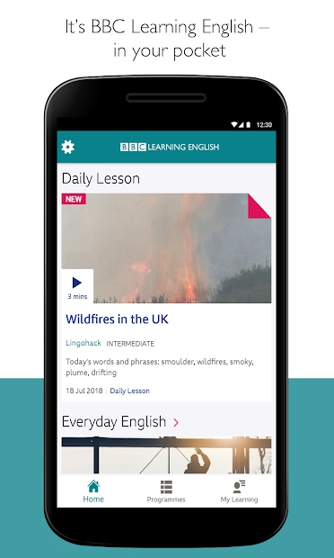 BBC Learning English Android App Screenshot