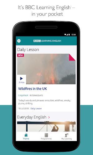 BBC Learning English Android App Screenshot