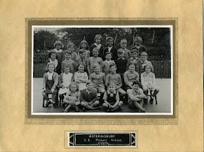 Photo: Wateringbury CE Primary Scool 1950