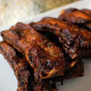 Ann Herrmann's Maple Barbecue Ribs.