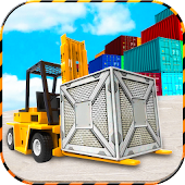 City Cargo Heavy Forklift Simulator 2017