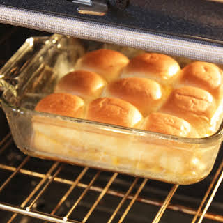 Hot Ham and Cheese Rolls (Perfect Kids Meal!).