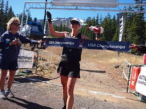 Photo: Women's winner Erica Barton