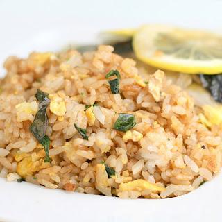 Basil Fried Rice Recipe