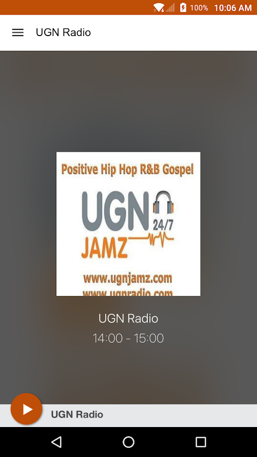 UGN Radio- screenshot