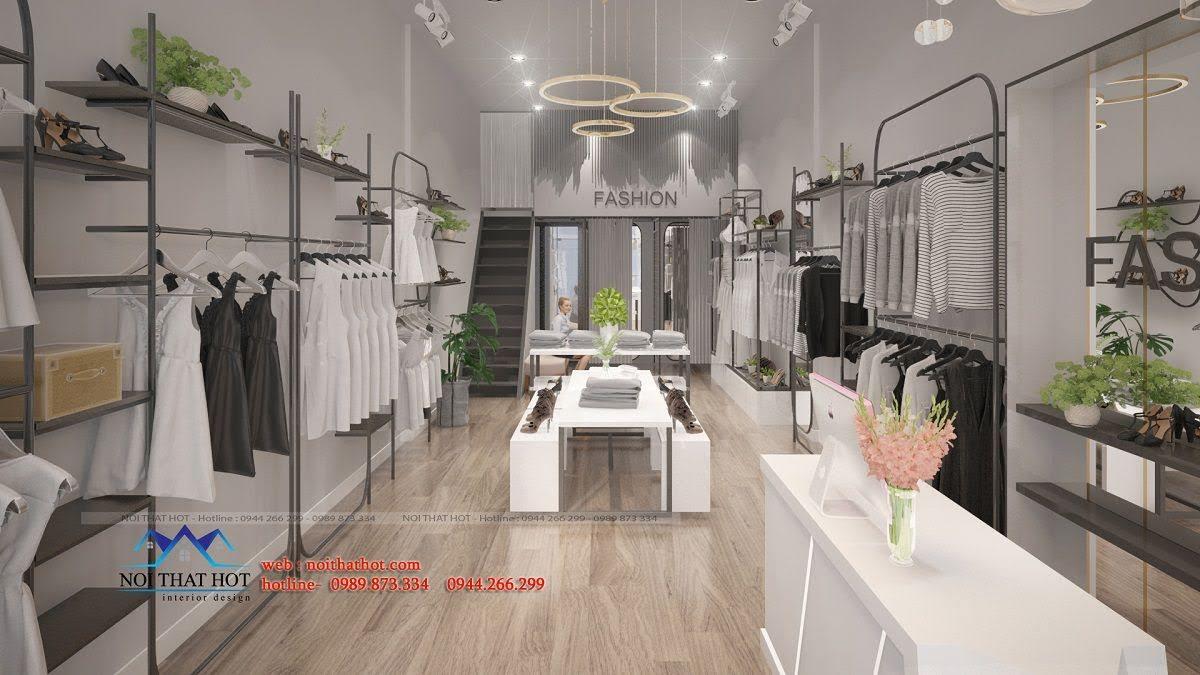 thiết kế shop thời trang hoài đức 6
