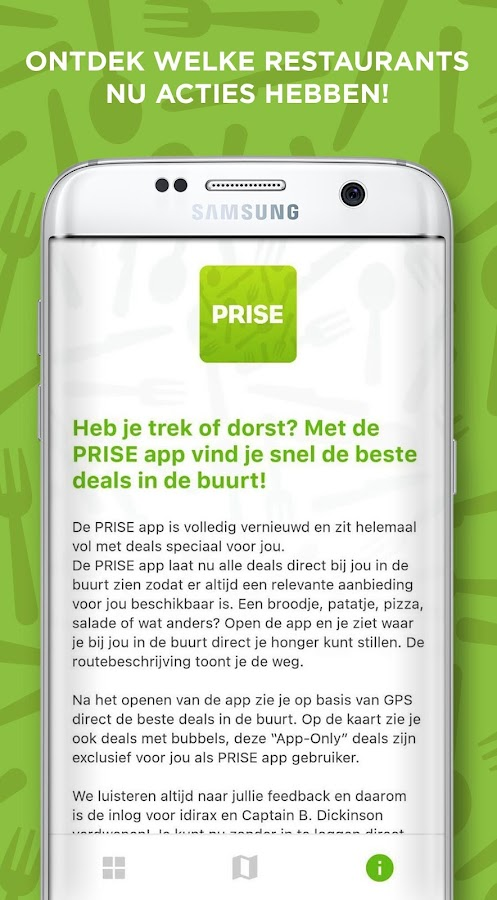 Prise – eet deals in de buurt- screenshot