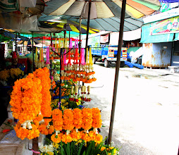 Photo: Day 330 - Flower Stall in Tak #2