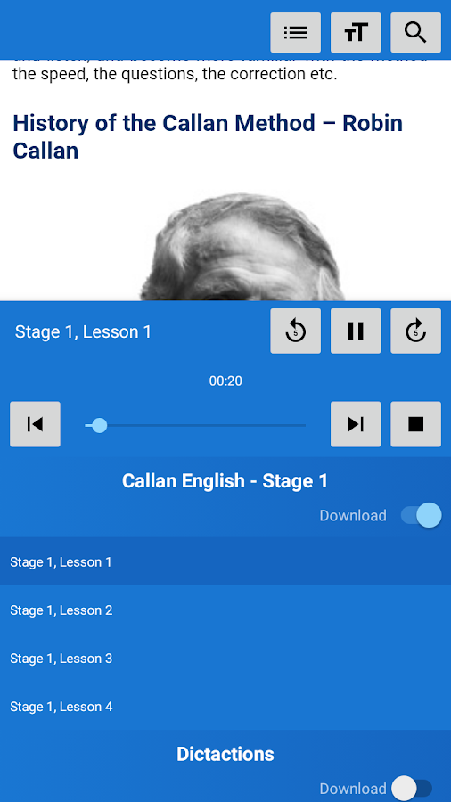 Callan method android apps on google play callan method screenshot fandeluxe Gallery