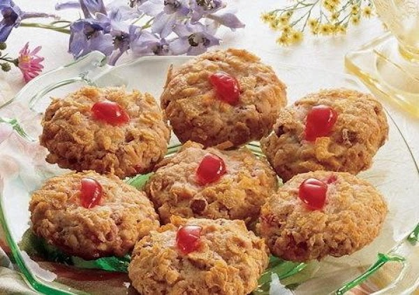 Christmas Cherry Winks Recipe