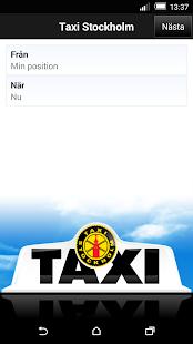 Taxi Sthlm - screenshot thumbnail