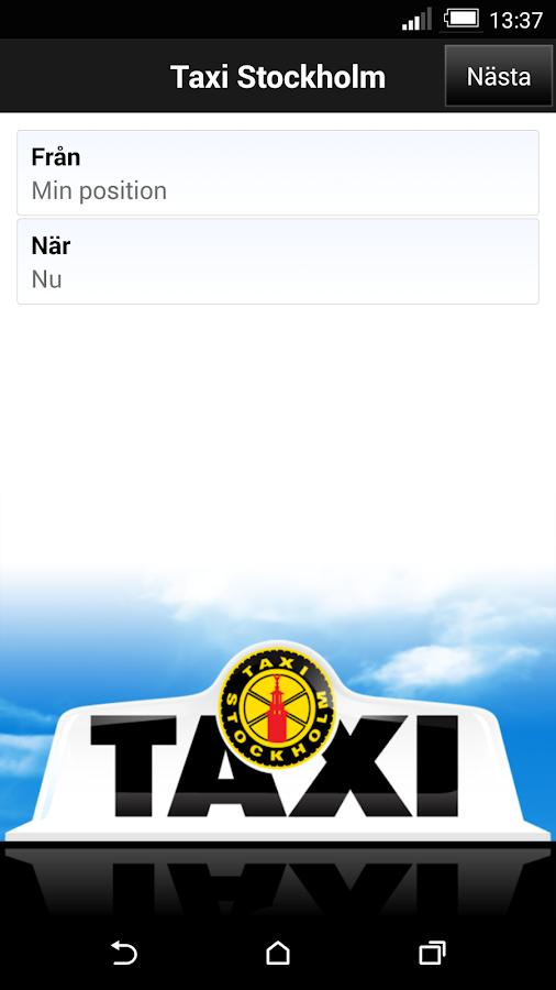 Taxi Sthlm - screenshot