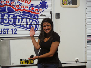 Photo: Days 29, 30, 31 Mitchell and Sioux Falls SD Kellee of Kelo TV