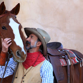 Cowboy Bill by Gary Parker - People Street & Candids