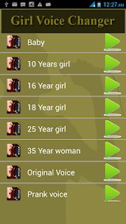 Girl Voice Changer screenshot 01