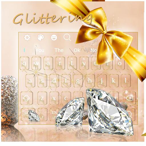 Glitter Diamond Jewelry Keyboard