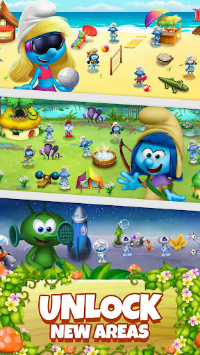 Smurfs Bubble Shooter Story 2.15.050204 screenshots 4