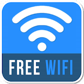 Free Wifi Connection Anywhere & Mobile Hotspot Icon