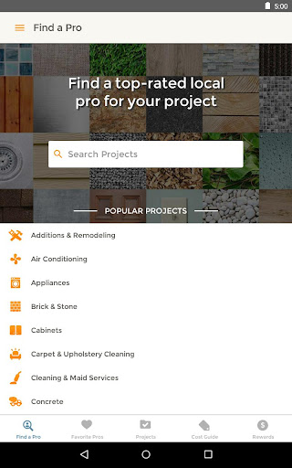 HomeAdvisor Home Contractors for PC