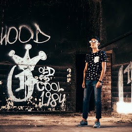 Chilling at the factory by Luciana Luraschi - Sports & Fitness Skateboarding ( extreme sports, fashion, lowlight, street, old school, sports, talent, urban fashion, rusty, nikesb, skateboarding, rnb, graffiti, lifestyle, dark, freestyle, atreetart, hipster, skate, swag, jeans, sunglasses, nike, beats, urban, nigga, dude, hiphop, tough, factory, kicks )