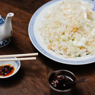 Fried Rice with Conpoy and Egg White