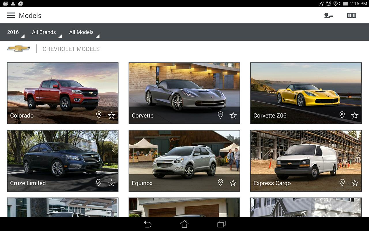 Gm dealer salesassistant screenshot