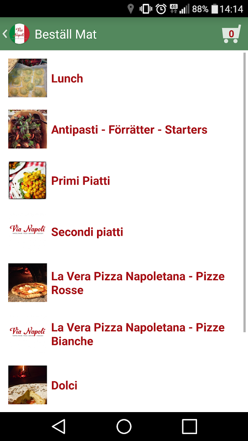 Via Napoli- screenshot