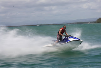 Photo: Year 2 Day 196 - Someone Having Fun on Their Jetski