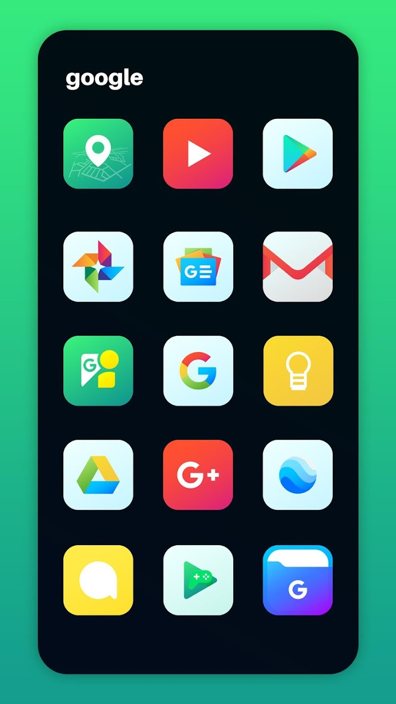 Nova Icon Pack - Rounded Square Icons Screenshot 2