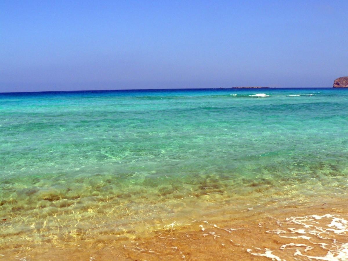Spiaggia di Falasarna a Creta