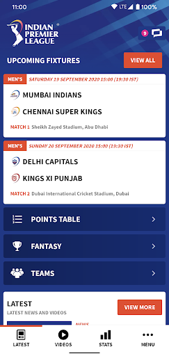 IPL 2020 screenshots 1