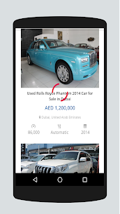 Dubai Used Car in UAE APK 3