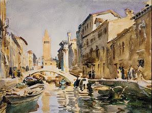 "Photo: John Singer Sargent, ""Acquerello veneziano"""