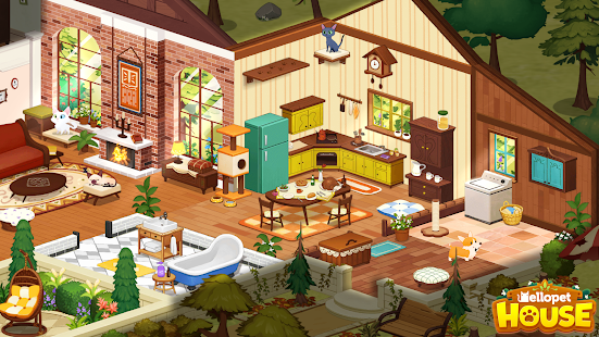 Hellopet House - Create a pet house with cute pets Screenshot