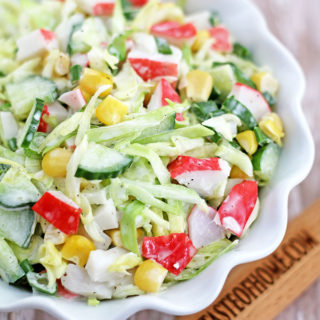 Shredded Cucumber And Crab Salad Recipes