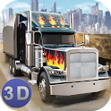American Truck Driving 3D icon