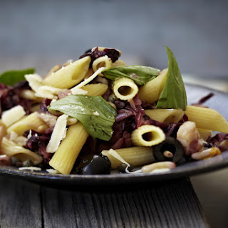 Penne with Bacon and Radicchio