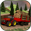 Log Transporter Tracteur Grue