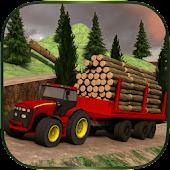 Log Transporter Tractor Crane