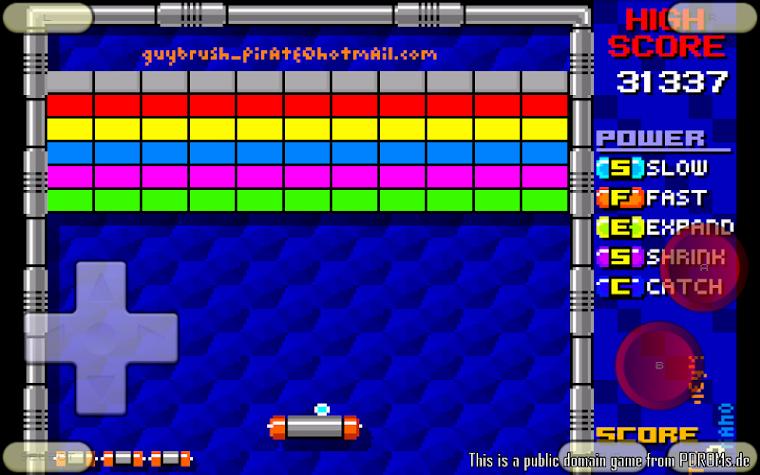 VGBAnext - GBA / GBC Emulator Screenshot