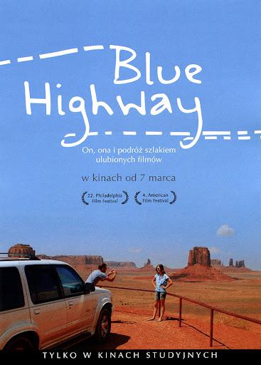 Przód ulotki filmu 'Blue Highway'