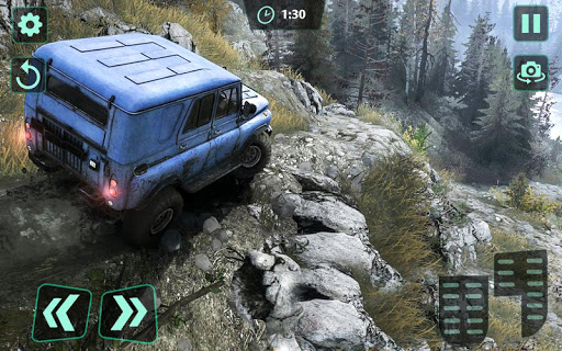 Off-Road 4x4 jeep driving Simulator : Jeep Racing android2mod screenshots 9