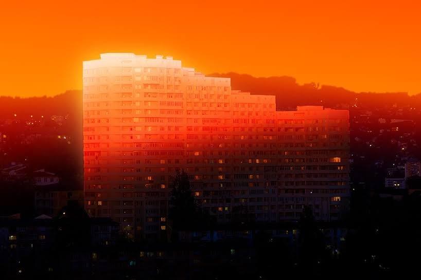 En la ciudad resplandeciente de Slava Semeniuta
