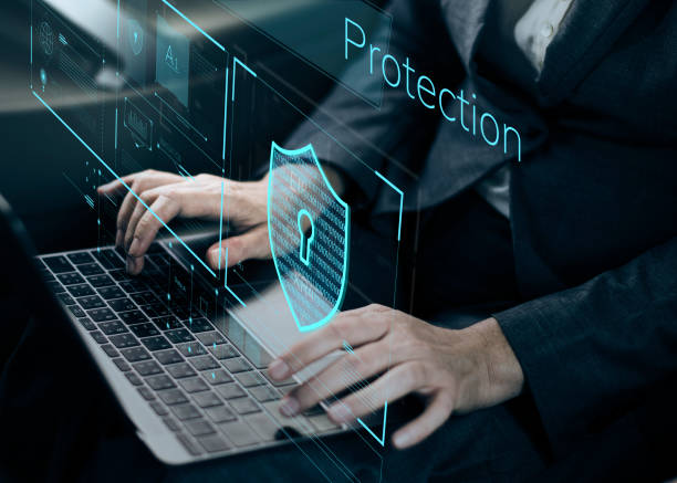 Data Security system Shield Protection Verification Data Security system Shield Protection Verification  ***These graphics are derived from our own 3D generic models. They do not infringe on any copyright design.*** cybersecurity stock pictures, royalty-free photos & images