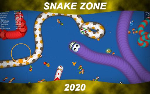 Worm Snake Zone screenshot 1