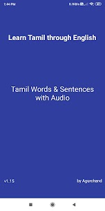 Learn Tamil through English 1.16 Download APK Mod 1