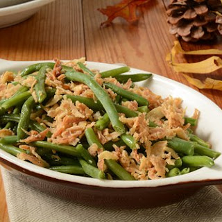 Cheese and Bacon Green Bean Casserole Recipe