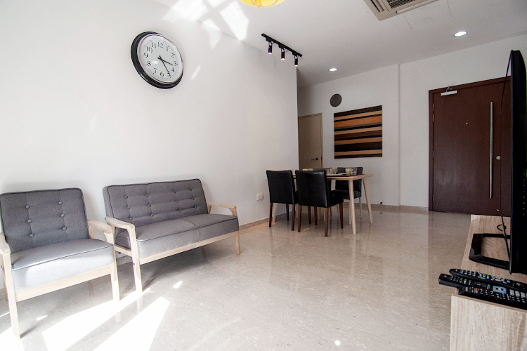 Toa Payoh Apartments, Balestier living room