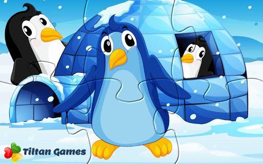 Pet Birds Puzzle Game for kids